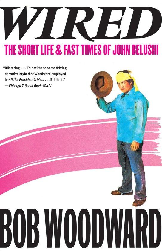 Boek cover Wired van B. Woodward (Onbekend)