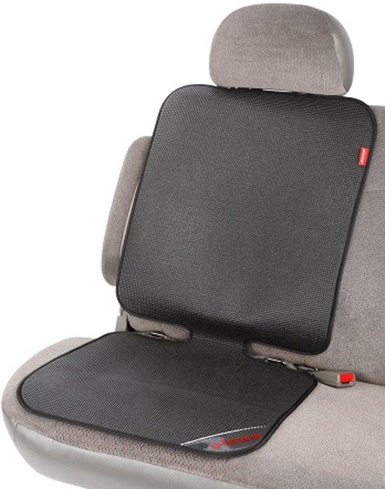 Diono - Grip It - Autostoelbeschermer met anti-slip - Auto beschermmat - Stoelbeschermer auto - Zwart