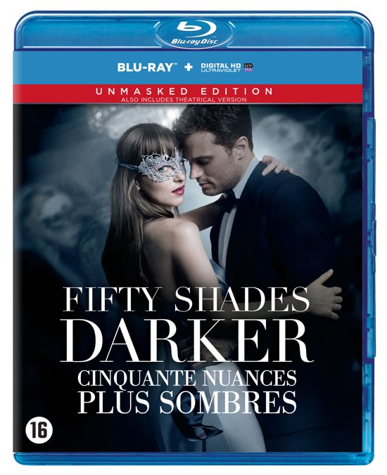 DVD cover van Fifty Shades Darker (Blu-ray)