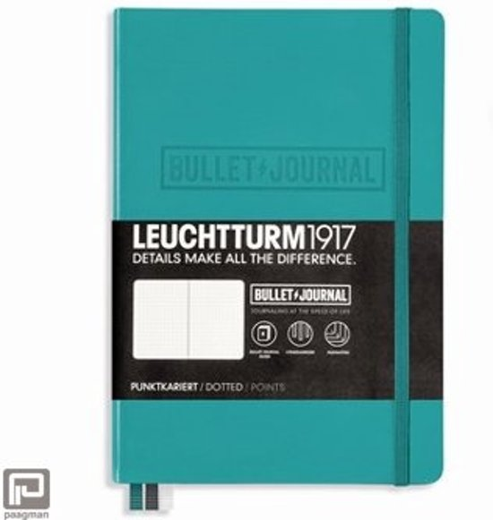 Leuchtturm1917 Bullet Journal notitieboek medium A5 emerald groen