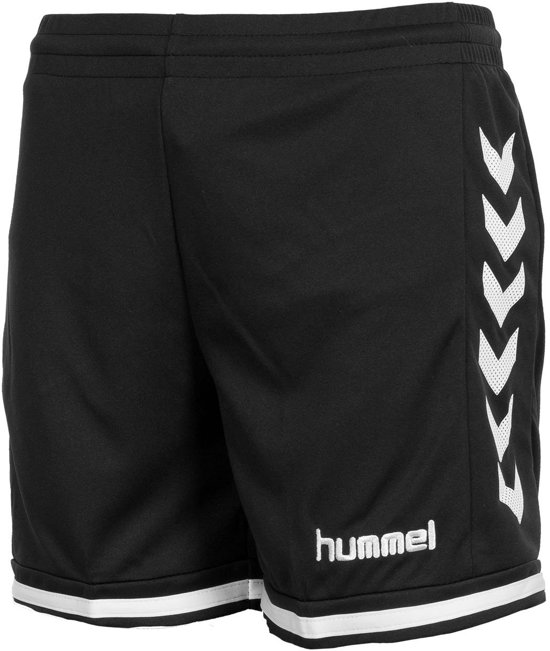 hummel Lyon Short Ladies Sportbroek Kinderen BlackWhite