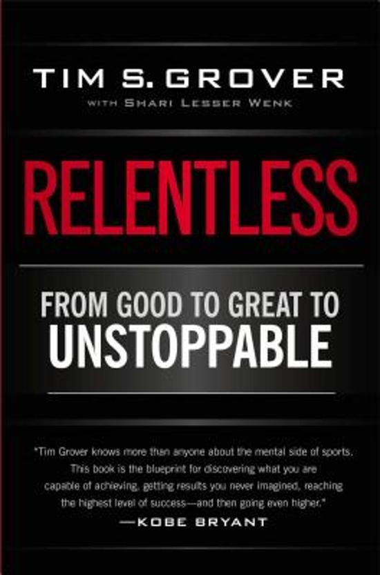 Boek cover Relentless van Tim S. Grover (Paperback)