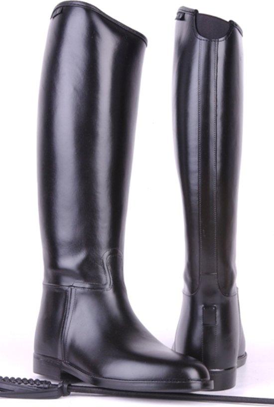 Rijlaars -heren standaard- met elastiek zwart 47