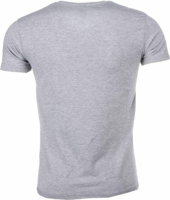 Xs Grijs T shirt Maten Mascherano Godfather Print WxFO1O