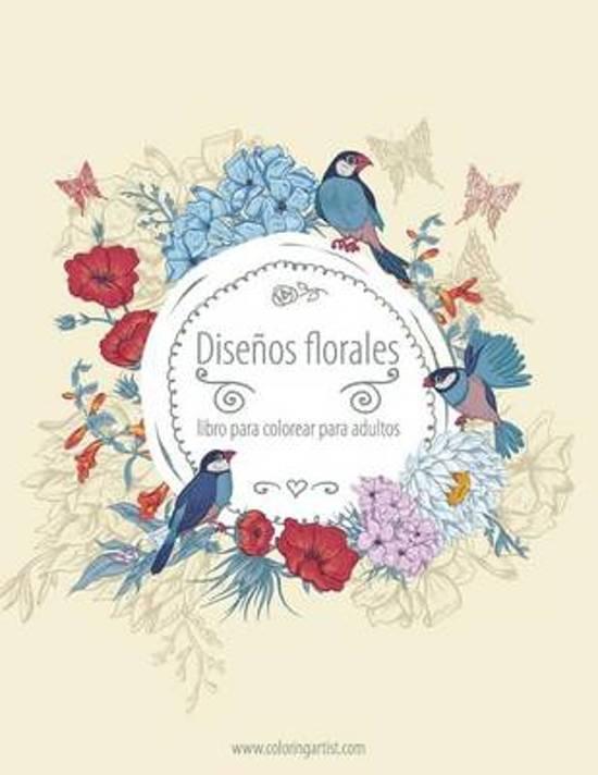 bol.com | Disenos Florales Libro Para Colorear Para Adultos 3, Nick ...