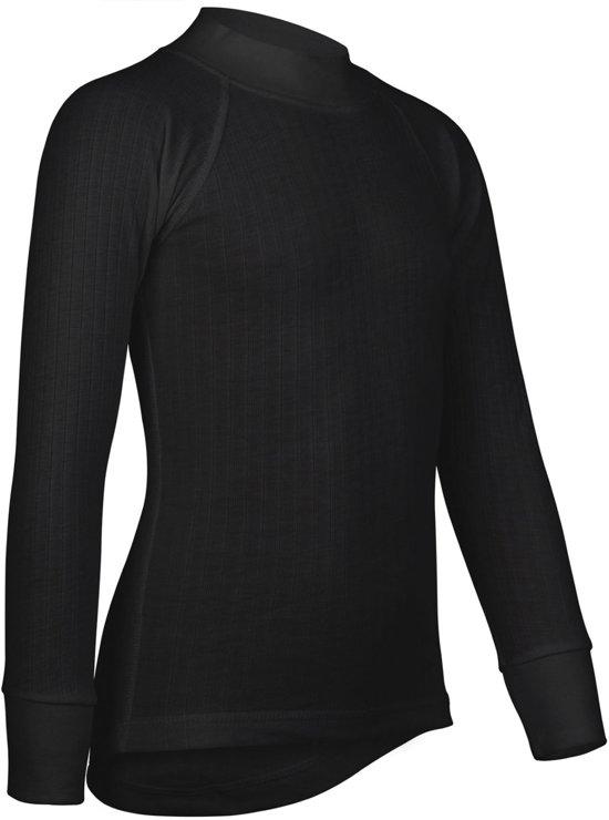 Avento - Thermoshirt - Lange Mouw - Kinderen - Zwart - Maat 140