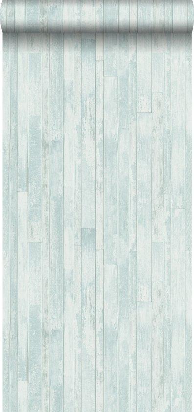 Verrassend bol.com | krijtverf vliesbehang vintage sloophout planken NA-15
