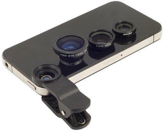 Universele lens clip voor smartphone iPhone - Samsung - Sony