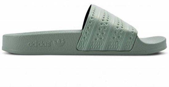 adidas cloudfoam adilette slippers heren groen