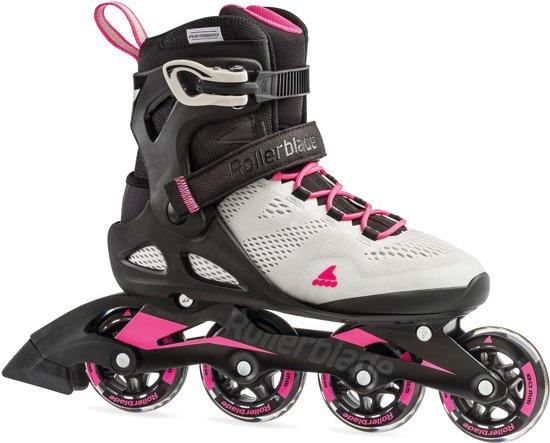 Rollerblade - Macroblade 80 - Dames - Cool grey-candy pink - Maat 24.5