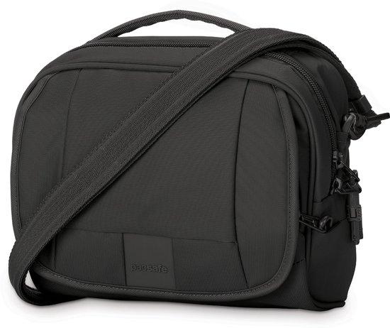 Pacsafe Metrosafe LS140-Anti diefstal Schoudertas-5 L-Zwart (Black)