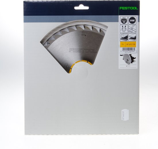Festool Cirkelzaagblad 36 tanden W diameter 210 x 2.4 x 30mm