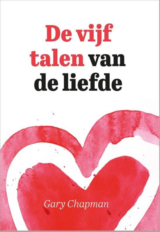 Boek cover De vijf talen van de liefde van Gary Chapman (Paperback)