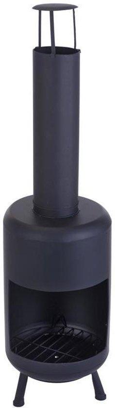Sfeerhaard 35x35x105cm zwart
