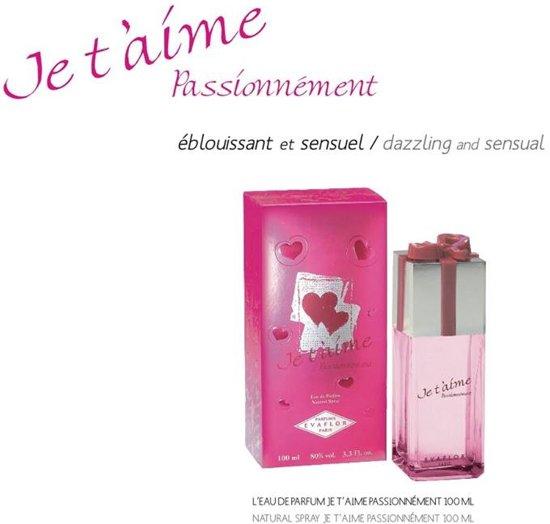 ZOMER TIP  Je t'aime Passionnément Dames Parfum ( cadeautje GRATIS)