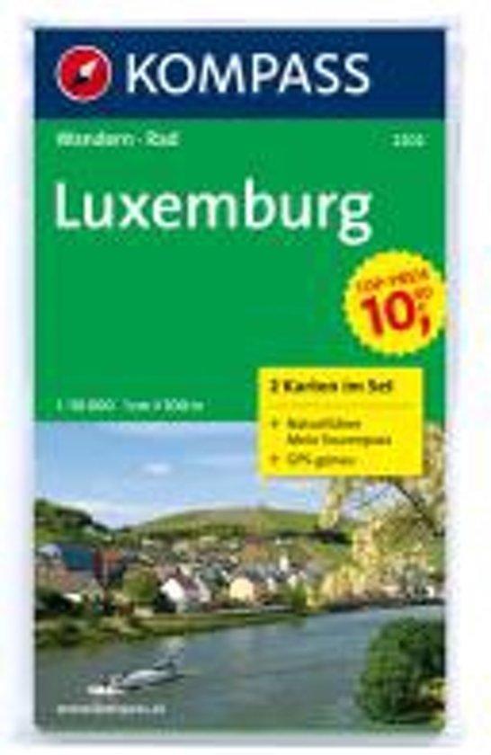 Kompass WK2202 Luxemburg
