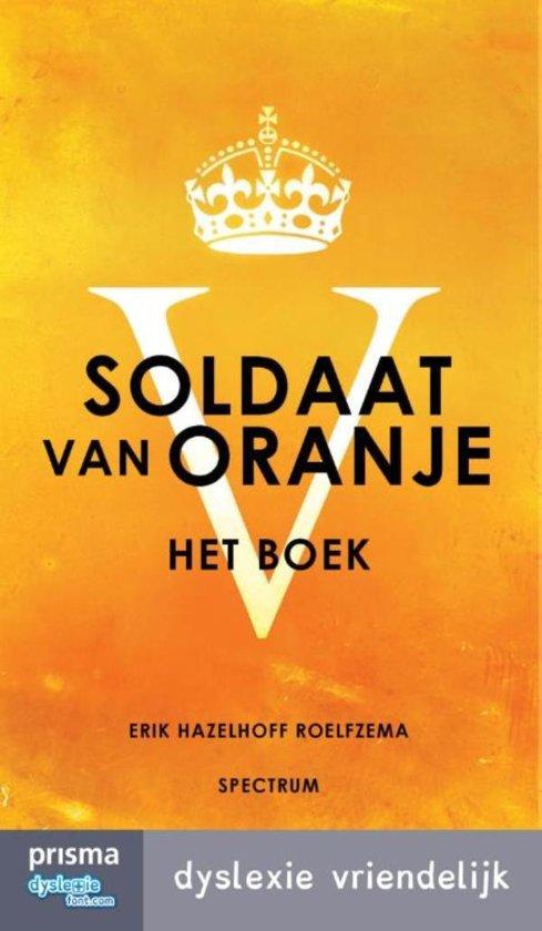 Cover van het boek 'Soldaat van oranje'