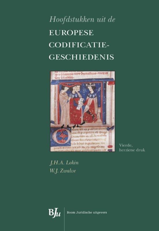 Boek cover Hoofdstukken uit de Europese codificatiegeschiedenis van Lokin/Zwalv (Paperback)
