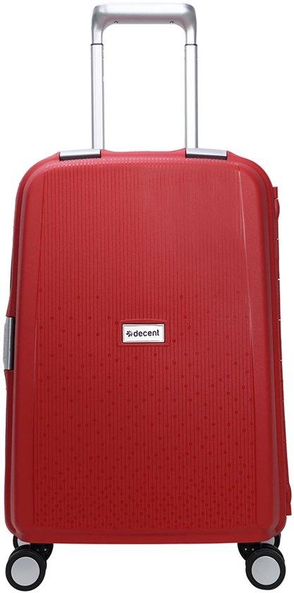 Decent Sportivo One - Handbagage Koffer - 55 cm - TSA slot - Red