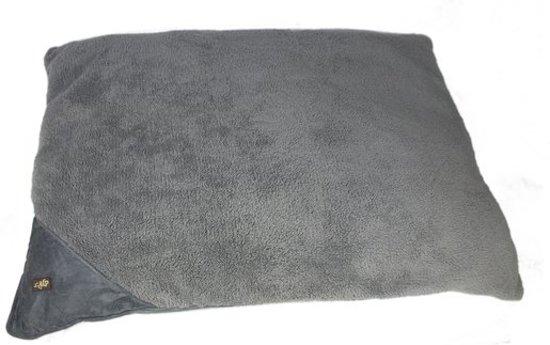 Classic Pillow bed medium van lamswol Grijs