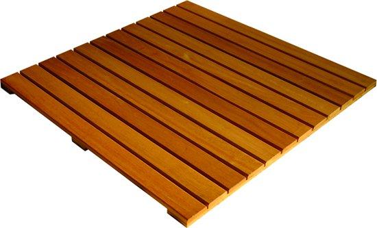 Hardhouten Tegels 100x100 : Bol gladgeschaafde tegel bankirai cm