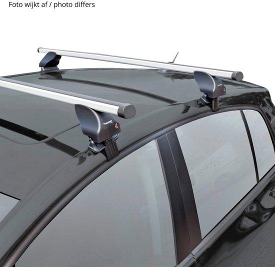 Twinny load Dakdragerset Twinny Aluminium A01 voor auto's met reling