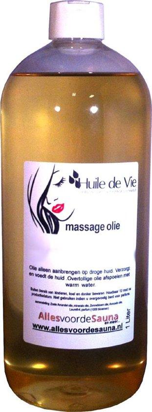 Massage olie afspoelbaar kokos