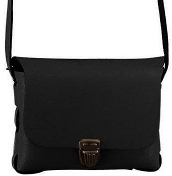 fee9a38361c Elvy Bags Janis Plain Crossbody Black