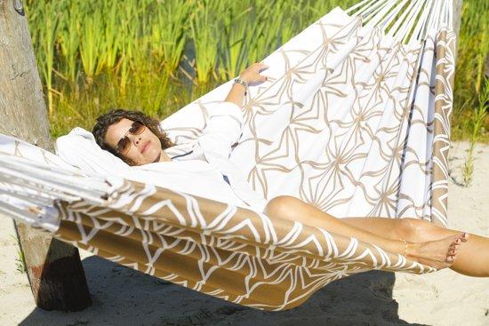 Hangmat Glamping Glamour Gold