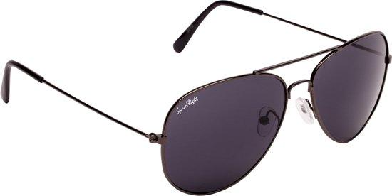 cd1d0b689549b0 Spaceflight Aviator zonnebril Zwart