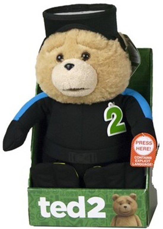 Ted 2 - Duiker Engelstalig Pratende Knuffel 28 cm