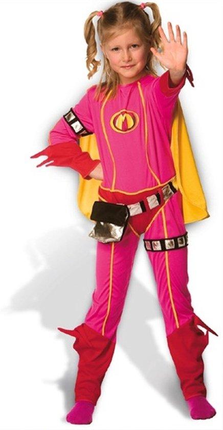 Afbeelding van Mega Mindy Verkleedpak Maat 110 - Carnavalskleding speelgoed