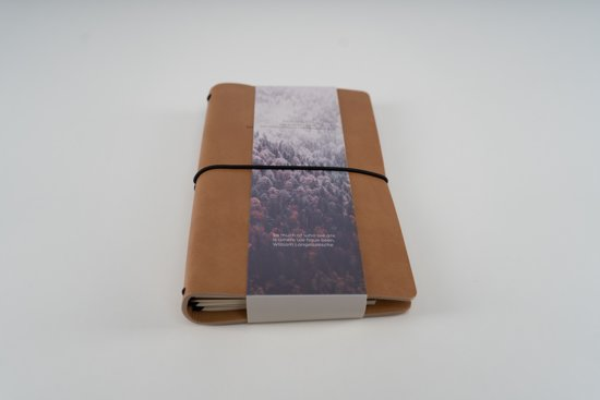 Fernweh Travel Notebook brown