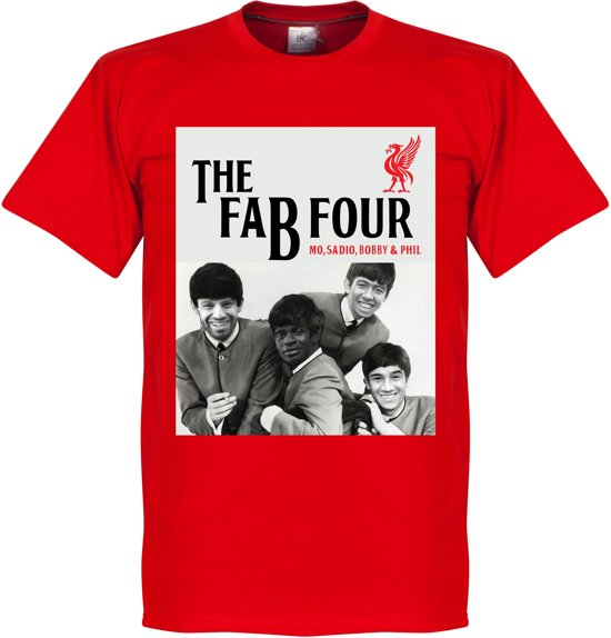 Liverpool The Fab Four T-Shirt - L