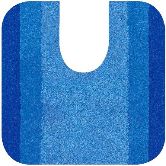 Wc Mat Lichtblauw.Spirella Balance Wc Mat Blauw 64 X 55 Cm