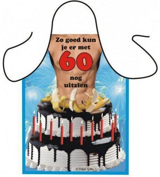 feest 60 jaar man bol.| Sexy schort 60 jaar man, Fun & Feest Party Gadgets  feest 60 jaar man