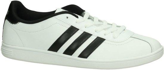 Ftwr Laag Vlcourt Sneaker Heren Adidas White Sportief 44 Maat Wit 8T1vEW7