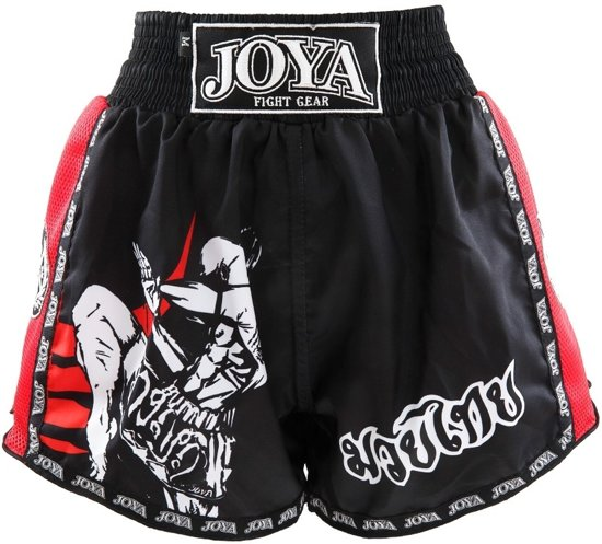 edceb8a7ed70 Joya Kickboksshort Fighter Junior Rood-S
