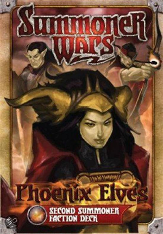 Afbeelding van het spel Summoner Wars Phoenix Elves 2nd Faction Deck