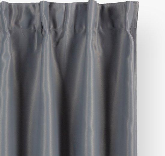 Nightlife Verduisterend Gordijn - 140x250 cm - Grijs