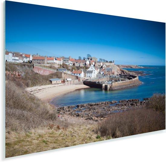 De haven van Fife in Schotland Plexiglas 60x40 cm - Foto print op Glas (Plexiglas wanddecoratie)