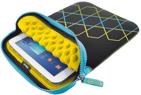 Trust Anti-shock Bubble Sleeve voor 10   tablets - hexagons 417619baaf