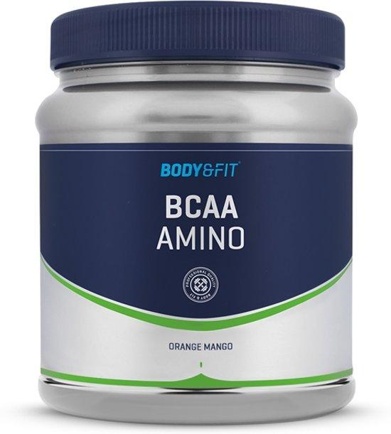 Body & Fit BCAA Amino - Aminozuren - 330 gram (22 servings) - Orange Mango