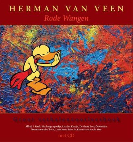 Cover van het boek 'Rode wangen  + cd' van Herman van Veen