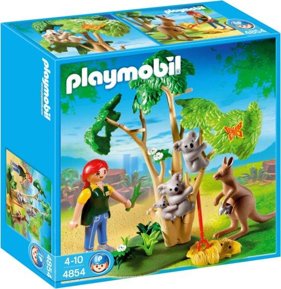 Beste bol.com | Playmobil Koalaboom Met Kangaroe - 4854, PLAYMOBIL DB-51
