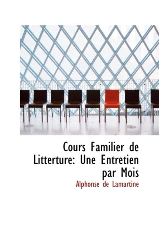 Cours Familier de Litt Rture