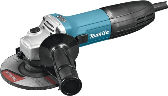 Makita 230 V Haakse slijper 125 mm - GA5030RK