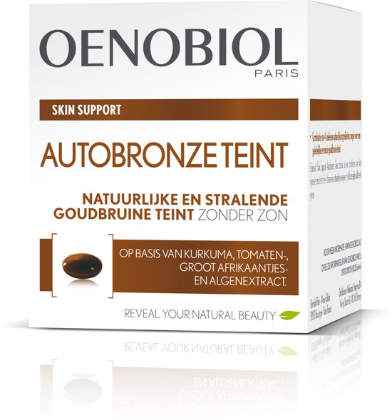 Oenobiol Paris Skin Support Autobronze Teint -  30 capsules