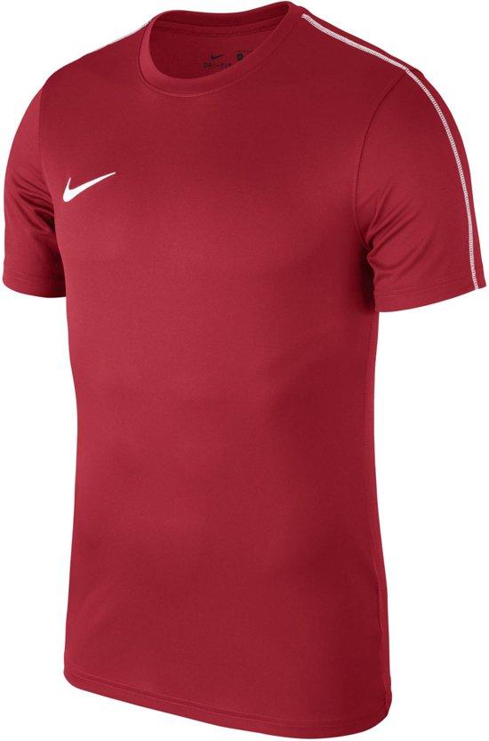 Nike Dry Park 18 Sportshirt Heren - rood