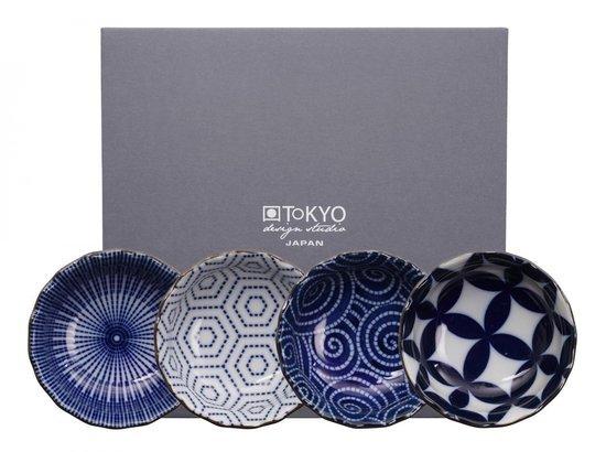 Tokyo Design Studio Kotobuki Schaaltjes - set van 4. Set van 4 - 9.5 x 3cm